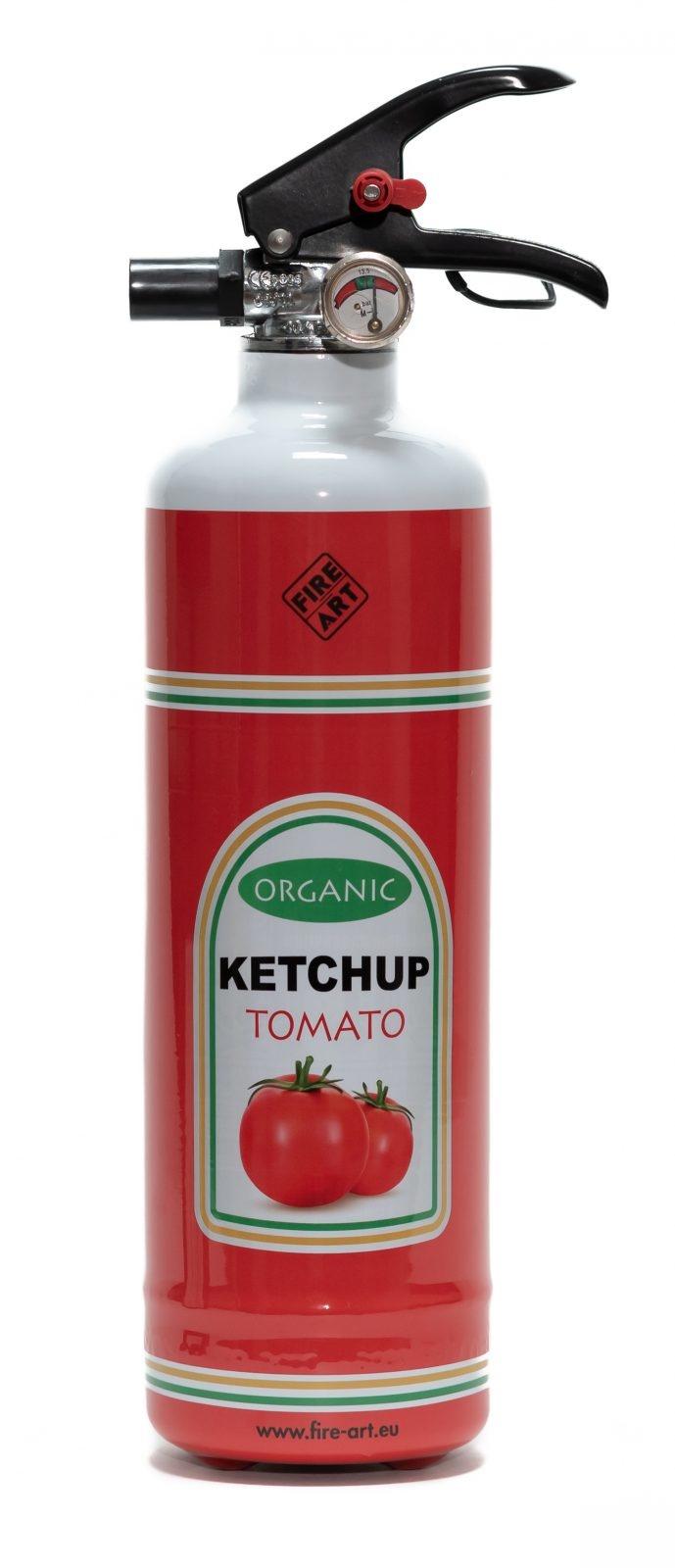 Fire Art Ketchup brandblusser