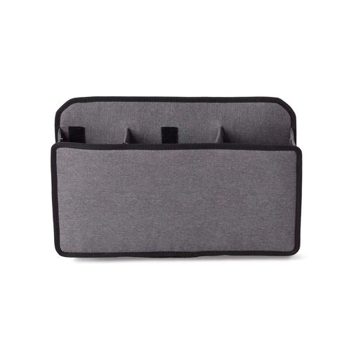 NOMATIC Messenger tas met fleshouder, Laptop vak en diverse opbergvakken - 15 Liter - Zwart