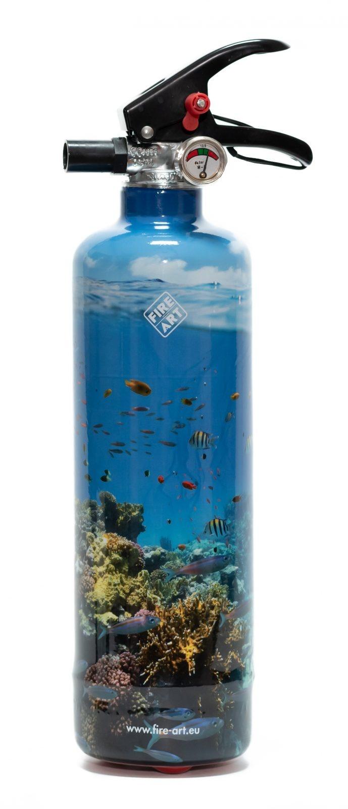 Fire Art Tropical Fishes brandblusser
