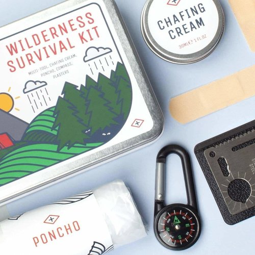 Men's Society Men's Society Wilderness Survival Kit