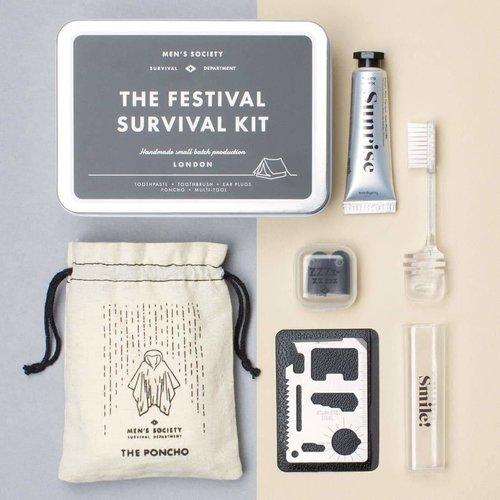 Men's Society Men's Society The Festival Survival Kit