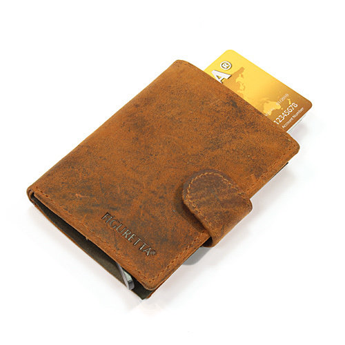 Figuretta Leder Kreditkartenhalter