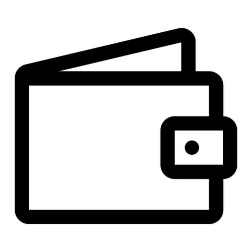Kartenhalter für verschiedene Bankkarten und Kreditkarten