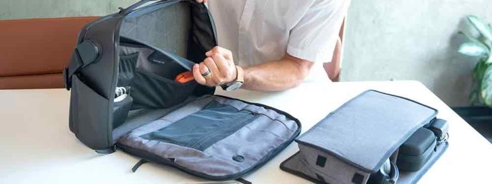 Abnehmbare Teile der NOMATIC Messenger Bag