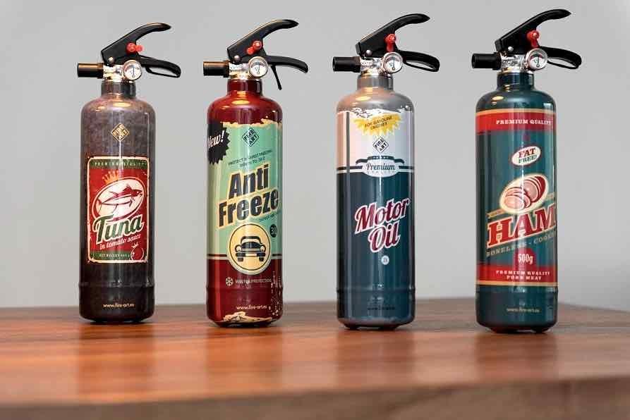 Fire Art brandblussers