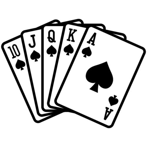 Zet je pokerface op