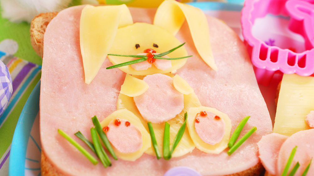 Easter bunny cheese