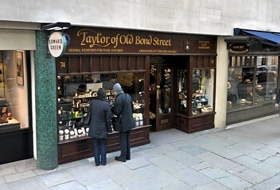 Taylor oder Old Bond Street Shop in der Jermyn Street in London