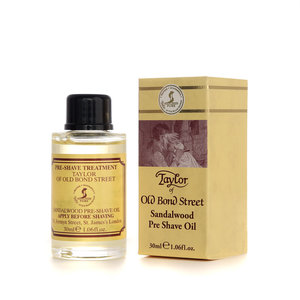 Taylor of old bond street Pre-Shave Oil Sandalwood 30ml