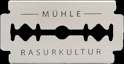 Mühle double edge scheermesje met uitsparingen