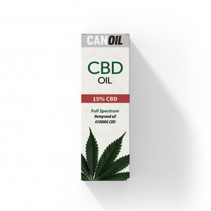 CANOIL CBD-Öl 15% (4500 mg) - 30 ml Vollspektrum-CBD