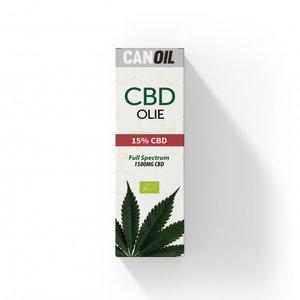CANOIL CBD-Öl 15% (1500 mg) - 10 ml Vollspektrum-CBD