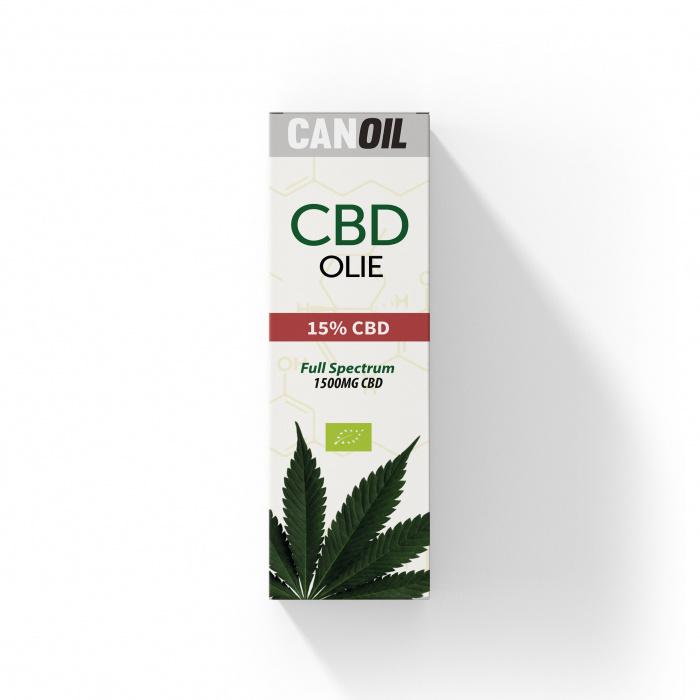 CANOIL CBD Olie 15% (1500MG) - 10ML Full Spectrum CBD