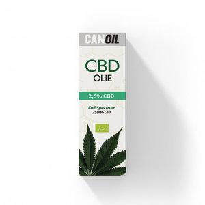CANOIL CBD-Öl 2.5% (250 mg) - 10 ml Vollspektrum-CBD