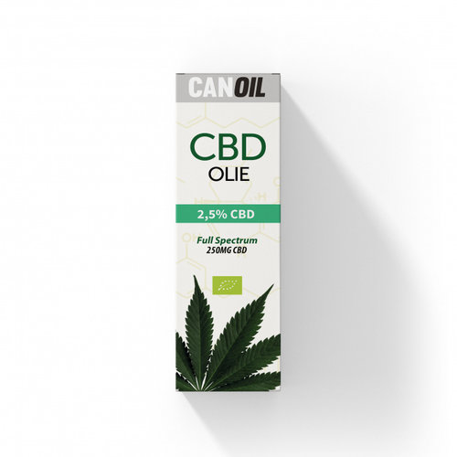 CANOIL CanOil CBD Olie 2.5% (250MG) - 10ML Full Spectrum CBD