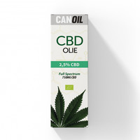 CBD Olie 2.5% (750MG) - 30ML Full Spectrum CBD