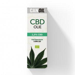 CANOIL CBD-Öl 2.5% (750 mg) - 30 ml Vollspektrum-CBD