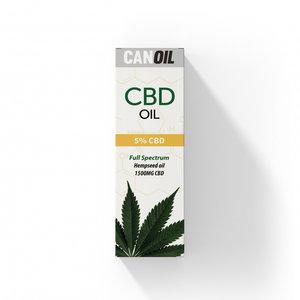 CANOIL CBD-Öl 5% (1500 mg) - 30 ml Vollspektrum-CBD