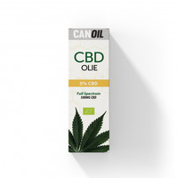 CBD Olie 5% (500MG) - 10ML Full Spectrum CBD
