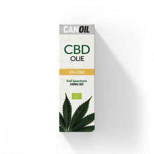 CANOIL CBD-Öl 5% (500 mg) - 10 ml Vollspektrum-CBD