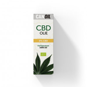 CANOIL CBD Olie 5% (500MG) - 10ML Full Spectrum CBD