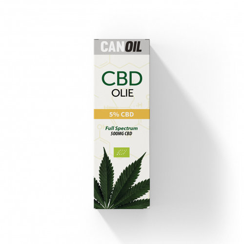 CANOIL CanOil CBD Olie 5% (500MG) - 10ML Full Spectrum CBD