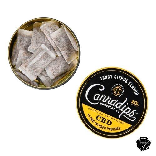 Cannadips CANNADIPS - CBD DIP POUCH - (15 zakjes - 16% CBD)