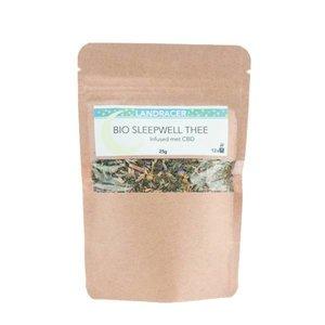 Landracer Sleepwell tea infused with CBD