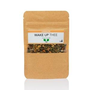 Landracer Wake Up tea infused with CBD