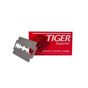 Tiger Superior Double Edge razor blades