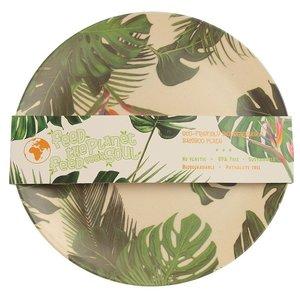 Bambootique Herbruikbaar bord van Bamboe