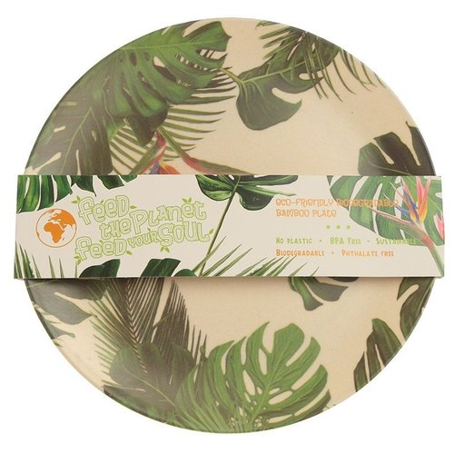 Bambootique Bamboo Plate
