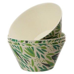 Bambootique Herbruikbare kommen van Bamboe - Set van 4