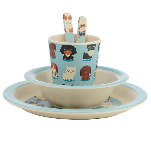 Bambootique Bamboo Children's tableware set