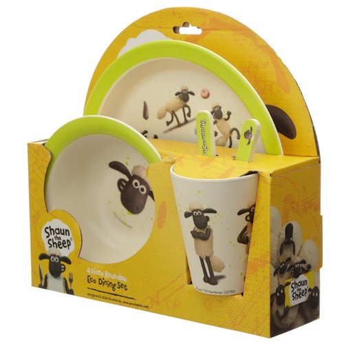 Bambootique Bamboe Kinderservies set