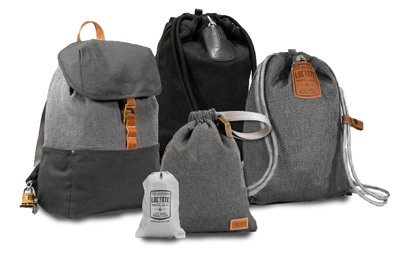 LocTote Antitheft backpacks