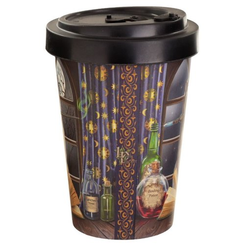 Bambootique Reusable bamboo composite travel mug with twist lid