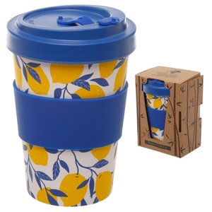 Bambootique Bamboo Travel Mug with twist lid