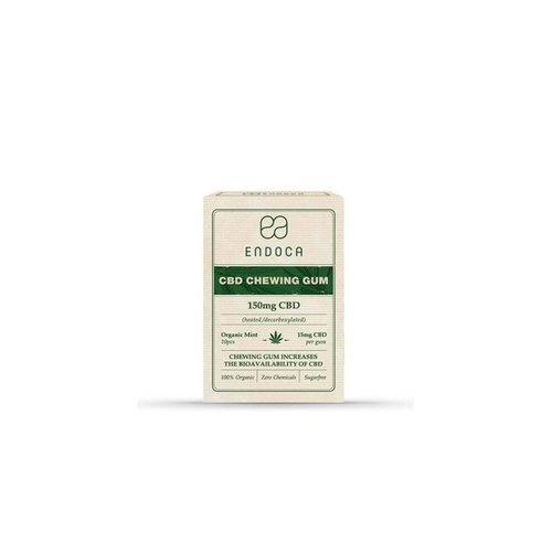 Endoca CBD chewing gum - 150 Mg Cbd