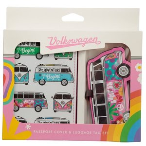 Volkswagen VW T1 Passport holder and luggage tag