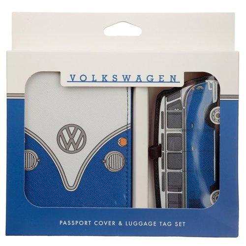 Volkswagen VW T1 Paspoorthouder en Kofferlabel