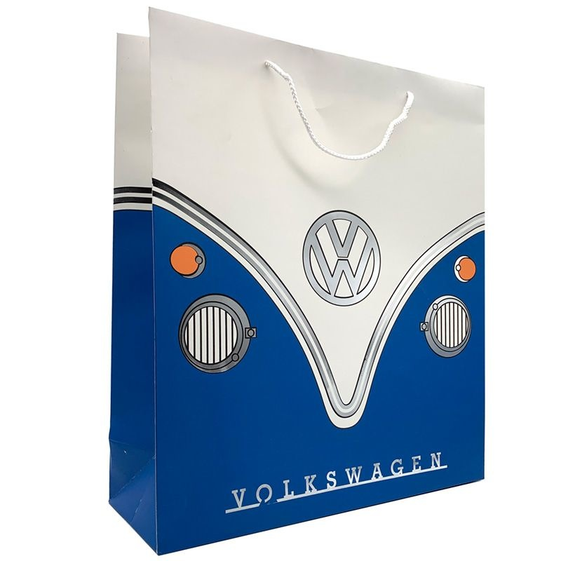 VW T4 Multicolour Campervan Motorhome cotton shopping bag