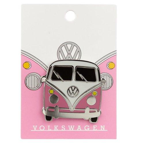 Volkswagen Volkswagen Kampeerbus VW T1 Emaille Button