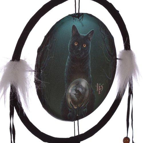 Lisa Parker Lisa Parker Dromenvanger Heksenkat - 16cm doorsnee