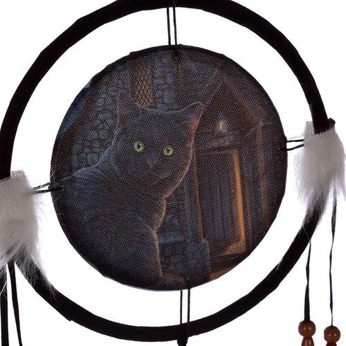 Lisa Parker Lisa Parker Dromenvanger Wijze Kat - 16cm doorsnee