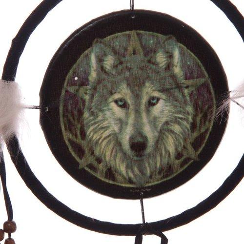 Lisa Parker Lisa Parker Dromenvanger Wolf - 16cm doorsnee