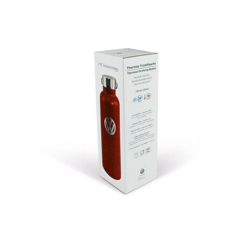 Volkswagen Volkswagen RVS thermische drinkfles. Vacuüm geïsoleerd - 735 ml