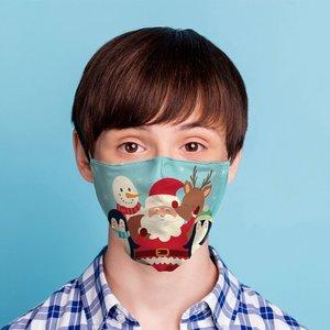 Novus Fumus Mund und Nasenschutz - Weihnachten - Small