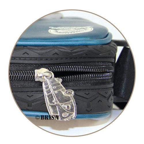 Volkswagen VW T1 Messenger Bag met rubber afwerking- Vintage logo