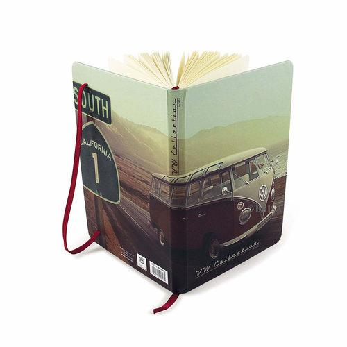 Volkswagen VW T1 Bus Notitieboek met zelf in te delen agenda. A5 formaat
